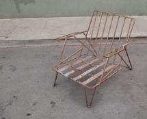 Rustic Modern Patio Lounge 1stdibs