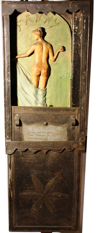 19th Century French Petanque Novelty Box Fanny For Sale