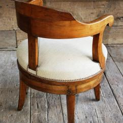 Revolving Desk Chair White Wicker Outdoor Chairs French Empire For Sale At 1stdibs