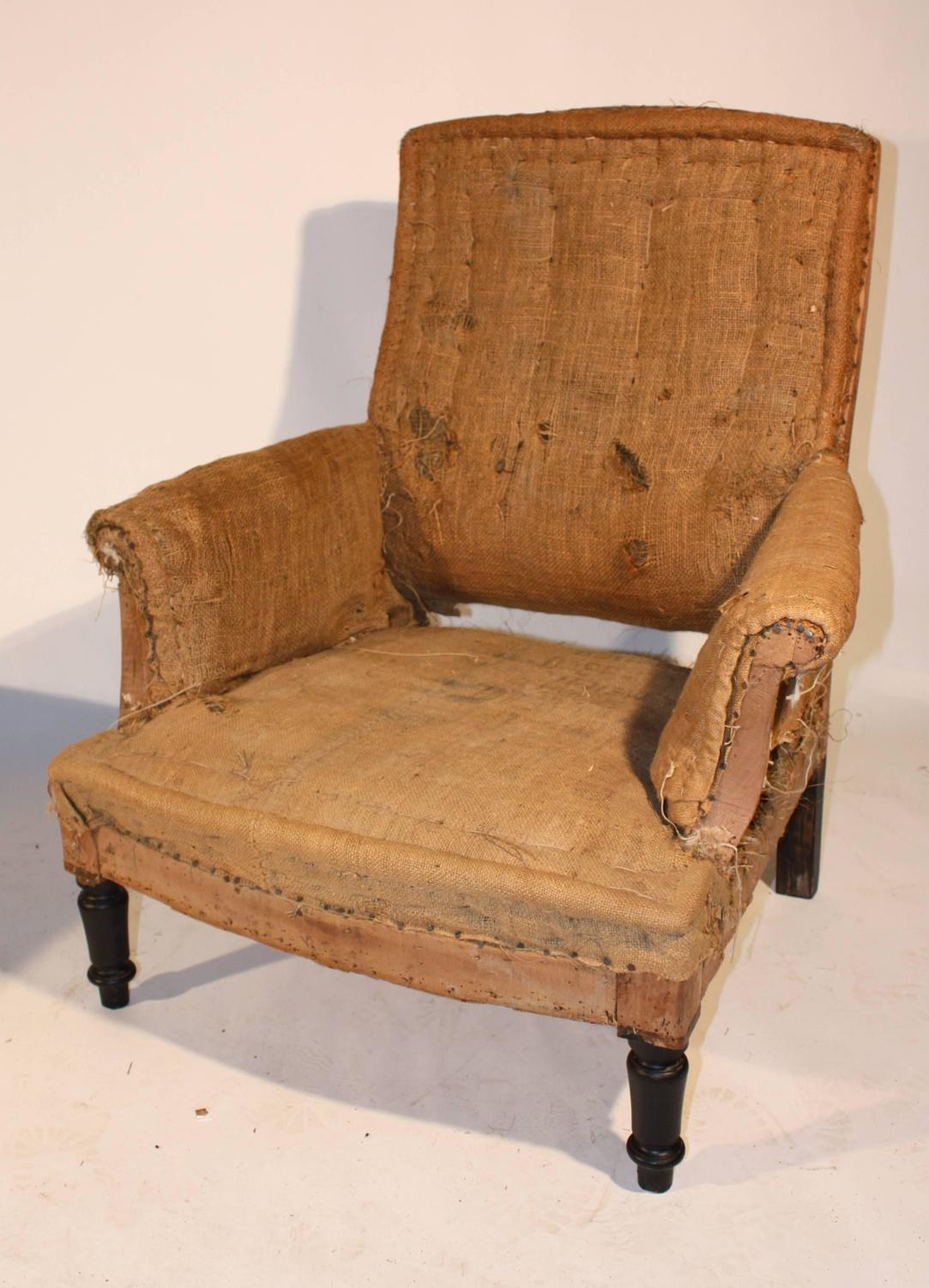 chairs and ottomans upholstered amazon chair covers bows napoleon iii club matching ottoman