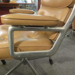 Herman Miller Leather Chair Office Max Chairs Eames Time Life For At 1stdibs