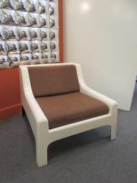 Cappellini 1960s Fiberglass Sofa and Chair For Sale at 1stdibs