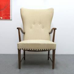 Modern Wingback Chairs For Sale How To Paint Plastic Danish Lounge Chair At 1stdibs