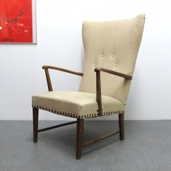 Modern Wingback Chairs For Sale Folding Camp Chair Danish Lounge At 1stdibs