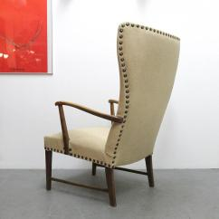 Modern Wingback Chairs For Sale Chair Gym Total Body Danish Lounge At 1stdibs