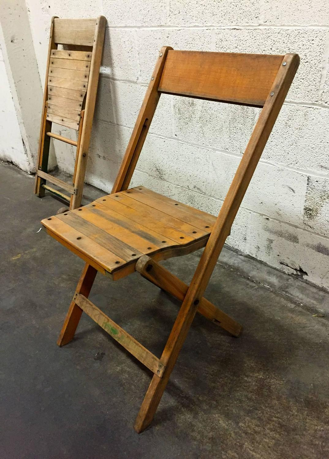 wooden folding chairs for sale leather executive office canada at 1stdibs