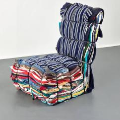 Modern Steel Chair Design Most Comfortable Outdoor Tejo Remy Rag For Droog Sale At 1stdibs