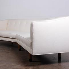 Angled Sofa Legs How To Reupholster A Yourself By Edward Wormley For Dunbar Sale At 1stdibs