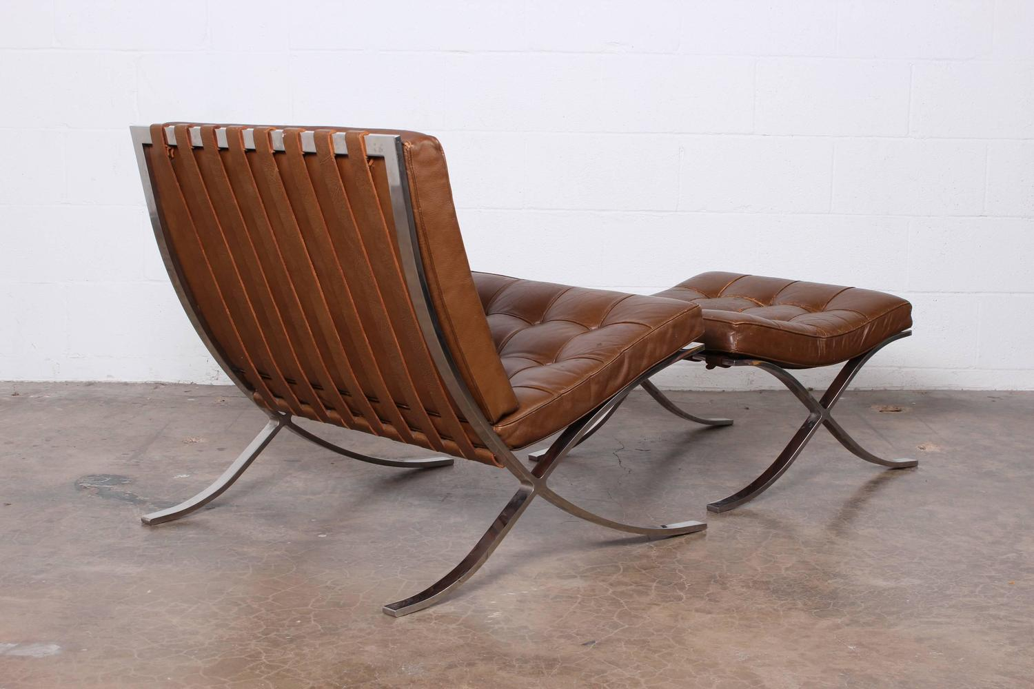 barcelona chairs for sale wicker adirondack chair and ottoman by mies van der rohe knoll