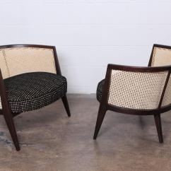 Cane Back Chairs For Sale Hub Around Chair Pair Of Lounge By Harvey Probber