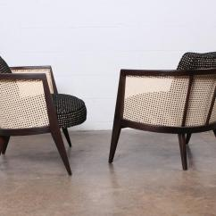 Cane Back Chairs For Sale Comfortable Chair Pc Gaming Pair Of Lounge By Harvey Probber