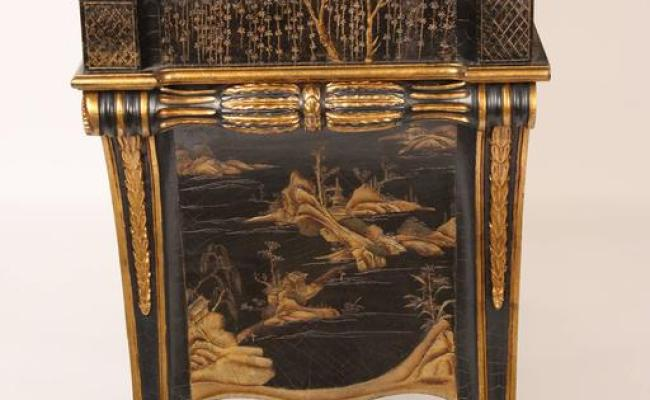 Georgian Style Chinoiserie Decorated Commode Made By
