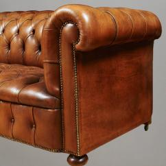 Tufted Nailhead Chair Armless Slipcover Diy Leather Sofa With Trim At 1stdibs