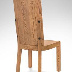 Swedish High Chair 8 Dining Table Set Axel Einar Hjorth Of 4 Back Pine Lovö