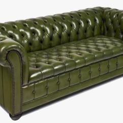 Chesterfield Leather Sofa Pull Out Bed Vancouver Vintage At 1stdibs
