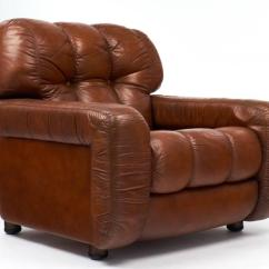 Art Deco Club Chairs Leather Chair Exercise Justin Timberlake French Vintage Overstuffed At 1stdibs