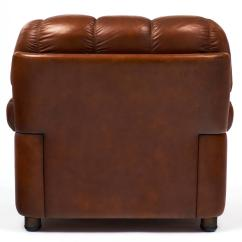 French Club Chairs For Sale Wingback Tufted Chair Vintage Overstuffed Leather At