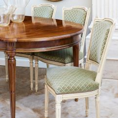 Green Dining Room Chairs Lexington Mission Style Set Of Antique French Louis Xvi Sage For Sale At 1stdibs