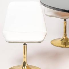 Tulip Table And Chairs Fabric Chair Covers Dining Set At 1stdibs