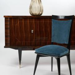 Dark Teal Dining Room Chairs Desk Chair Tall Mid Century Modern Period Set Of Six Velvet