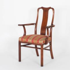 Queen Anne Dining Chair Best Desk Chairs For Back Pain Vintage Set Of 18 Modern Asian
