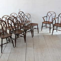 Farmhouse Chairs For Sale Dining Room Table Set Of Ten Style At 1stdibs