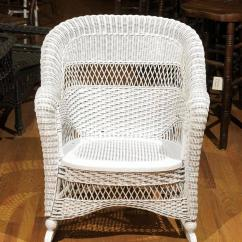 Heywood Wakefield Wicker Chairs Table And Chair Rental Birmingham Al Rocker For Sale At 1stdibs