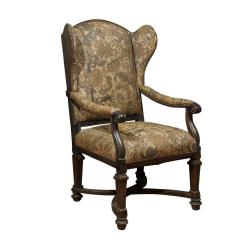Upholstered Wingback Chair Kitchen High Table And Chairs 18th Century English For Sale