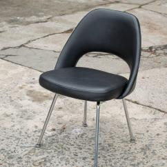 Knoll Office Chair Parts Anywhere Pottery Barn Vintage Eero Saarinen Executive Side For At