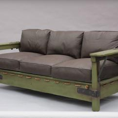 Rope Bottom Chair Democratic National Committee Classic Monterey Green Sofa Frame At 1stdibs