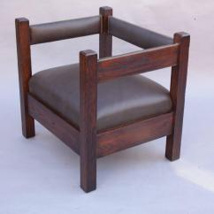 Arts And Crafts Chairs Walmart Kids Table Antique Mission Cube Chair For Sale At 1stdibs