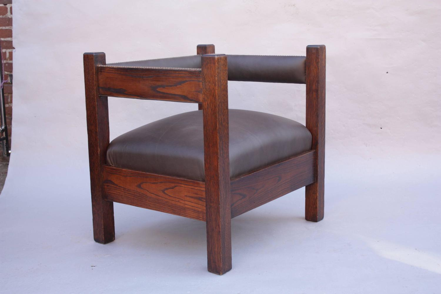 mission chairs for sale godrej revolving chair back pain antique arts and crafts cube at 1stdibs