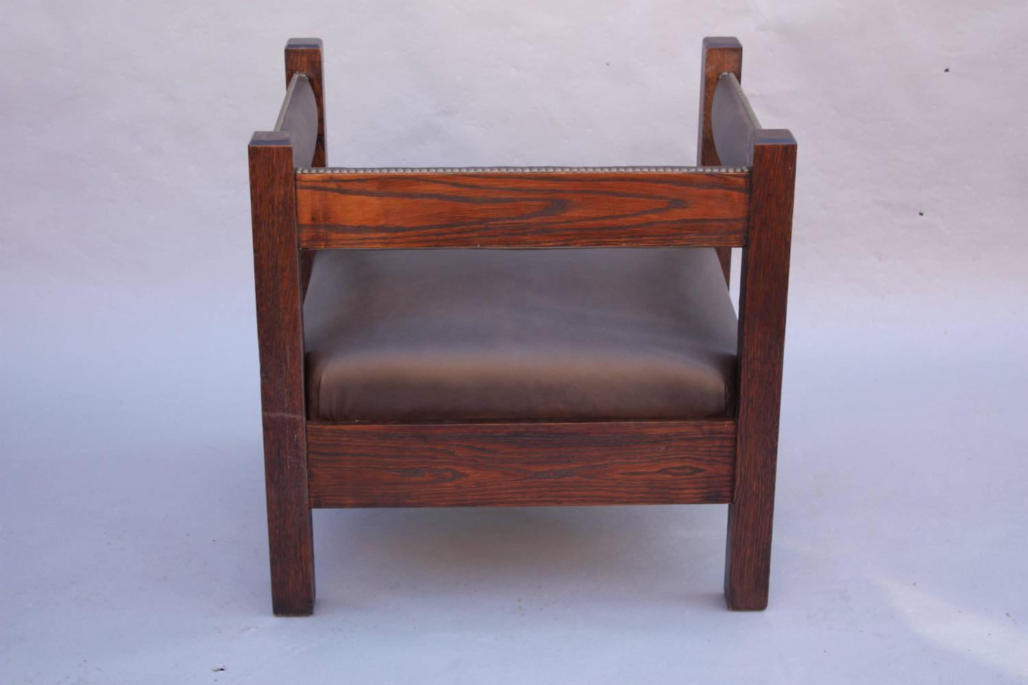 mission chairs for sale low profile chair antique arts and crafts cube at 1stdibs