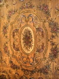 Fine and Very Decorative Aubusson Carpet or Throw For Sale ...