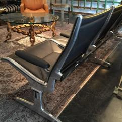 Herman Miller Chairs Seattle Giant Lawn Chair Vintage Airport Bench At 1stdibs