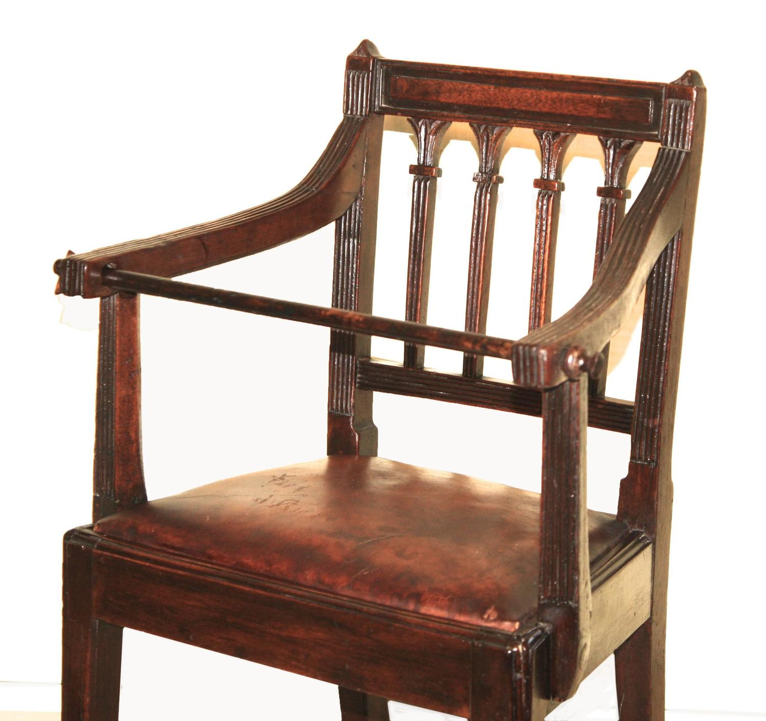 Childs Hepplewhite Dining Armchair For Sale At 1stdibs