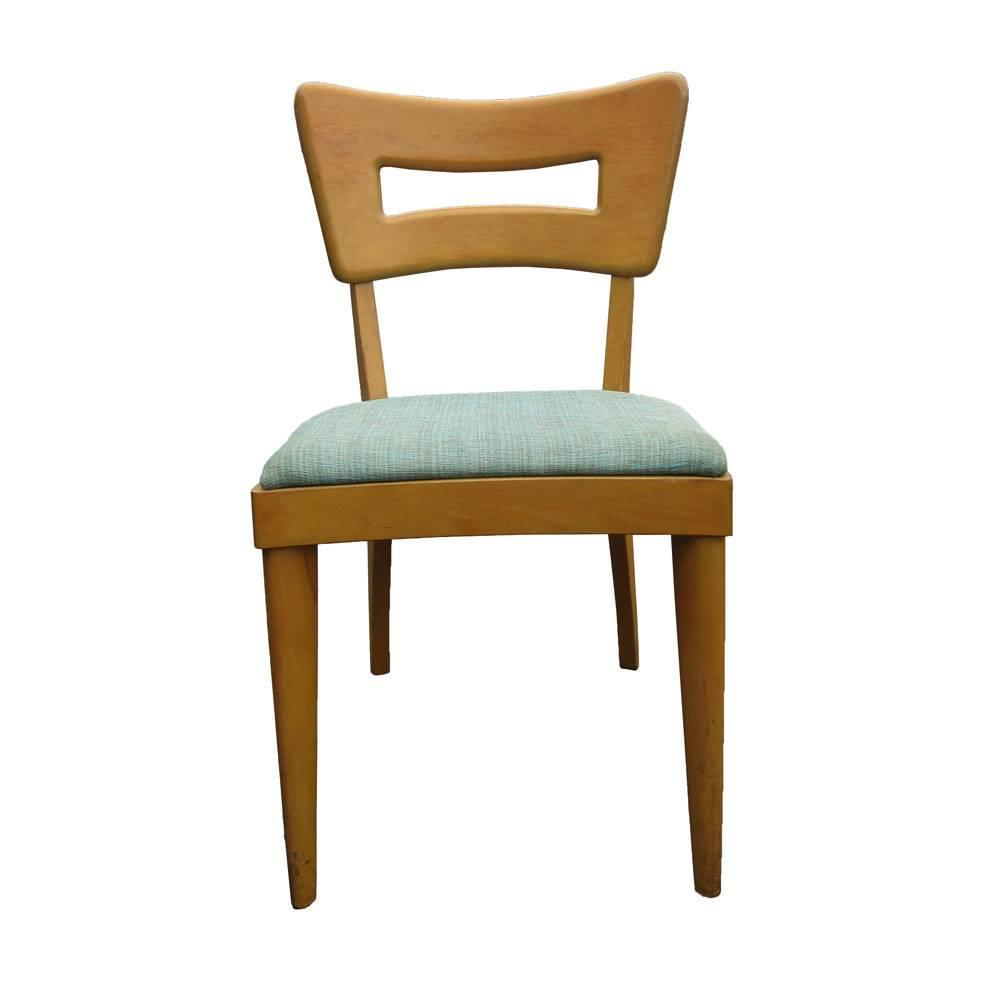 heywood wakefield dogbone chairs white aeron chair set of eight vintage for sale at 1stdibs