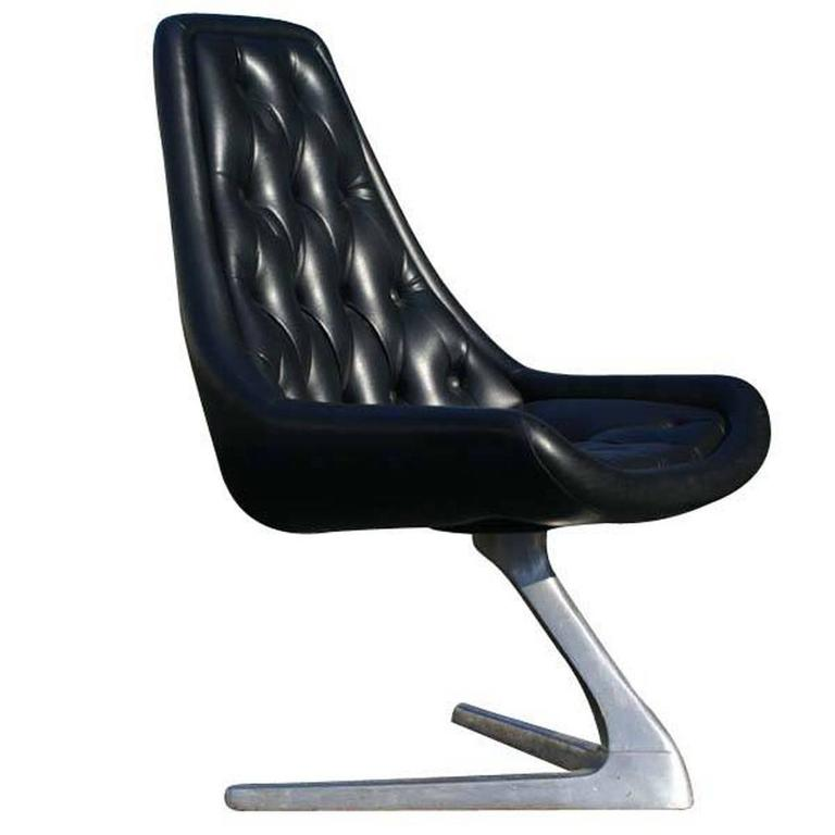 Kagan Style Star Trek Chromcraft Sculpta Unicorn Chair V