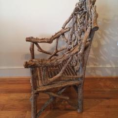 Adirondack Chairs For Sale Steelcase Move Chair Extraordinary 19th Century Twig