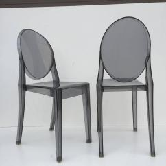 Ghost Chairs For Sale Desk Chair Vintage Five Signed Lucite At 1stdibs