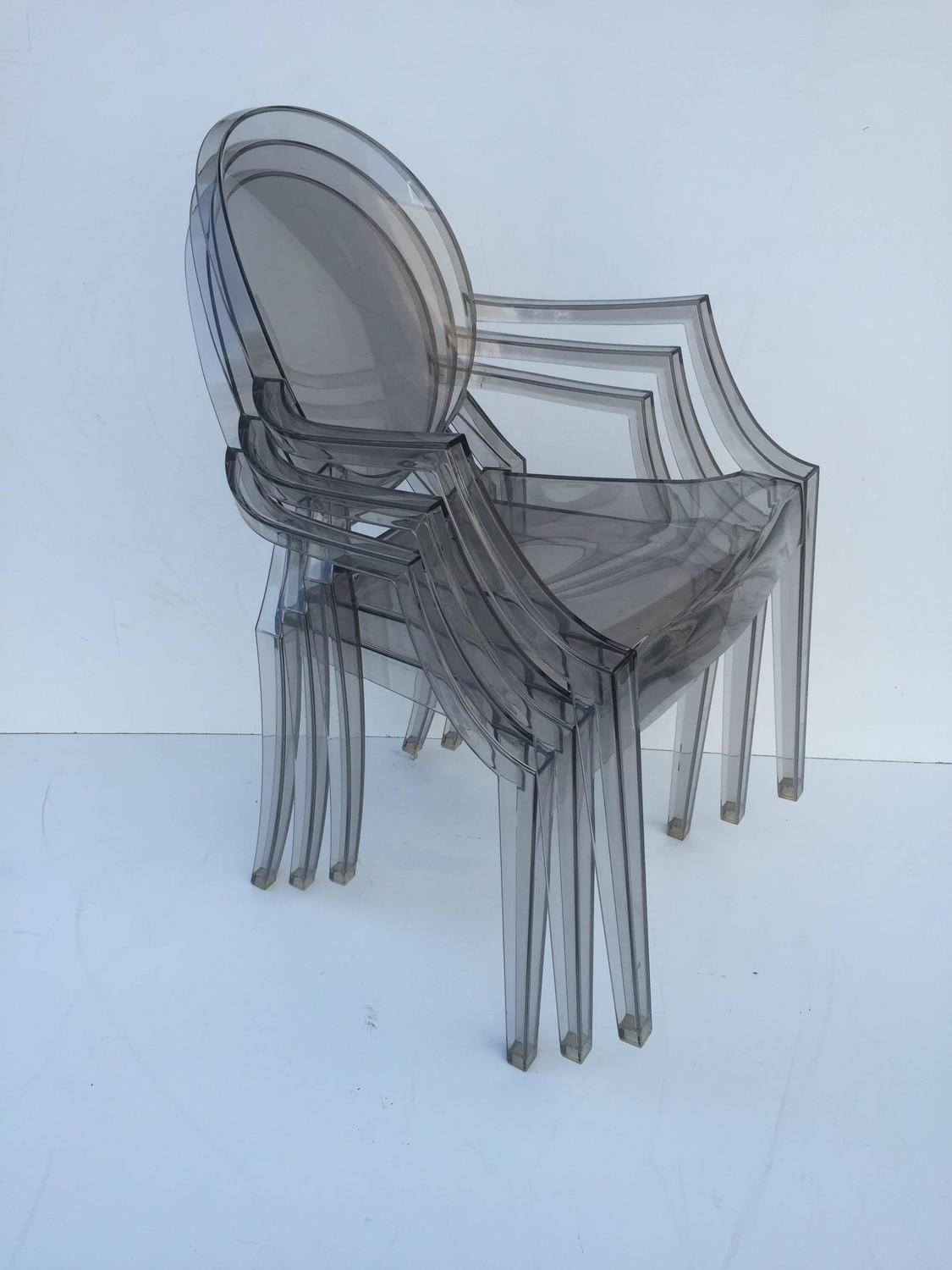 ghost chairs for sale the big chair dc five signed lucite at 1stdibs