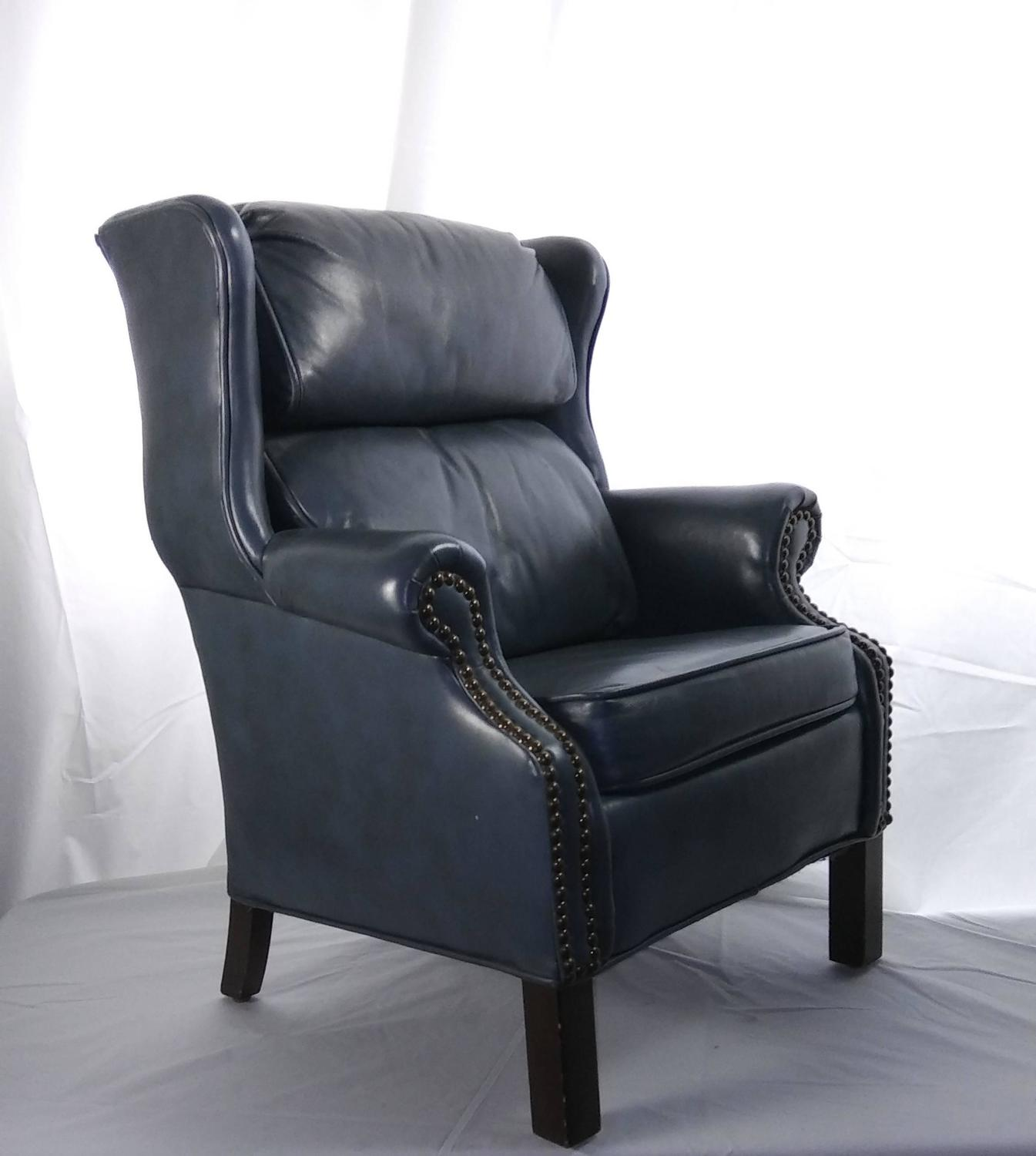 leather wingback chairs canada bonded child 39s executive chair for sale at 1stdibs