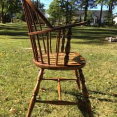 Early American Chair Styles Mexican Chairs Leather Windsor Style Armchair For Sale At 1stdibs