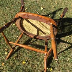 Early American Chair Styles Heywood Wakefield Dogbone Chairs Windsor Style Armchair For Sale At 1stdibs