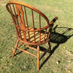 Early American Chair Styles Plastic Stackable Lawn Chairs Windsor Style Armchair For Sale At 1stdibs