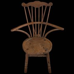 Comb Back Windsor Chair Gold Sequin Covers For Sale Ash Circa 1760 At 1stdibs