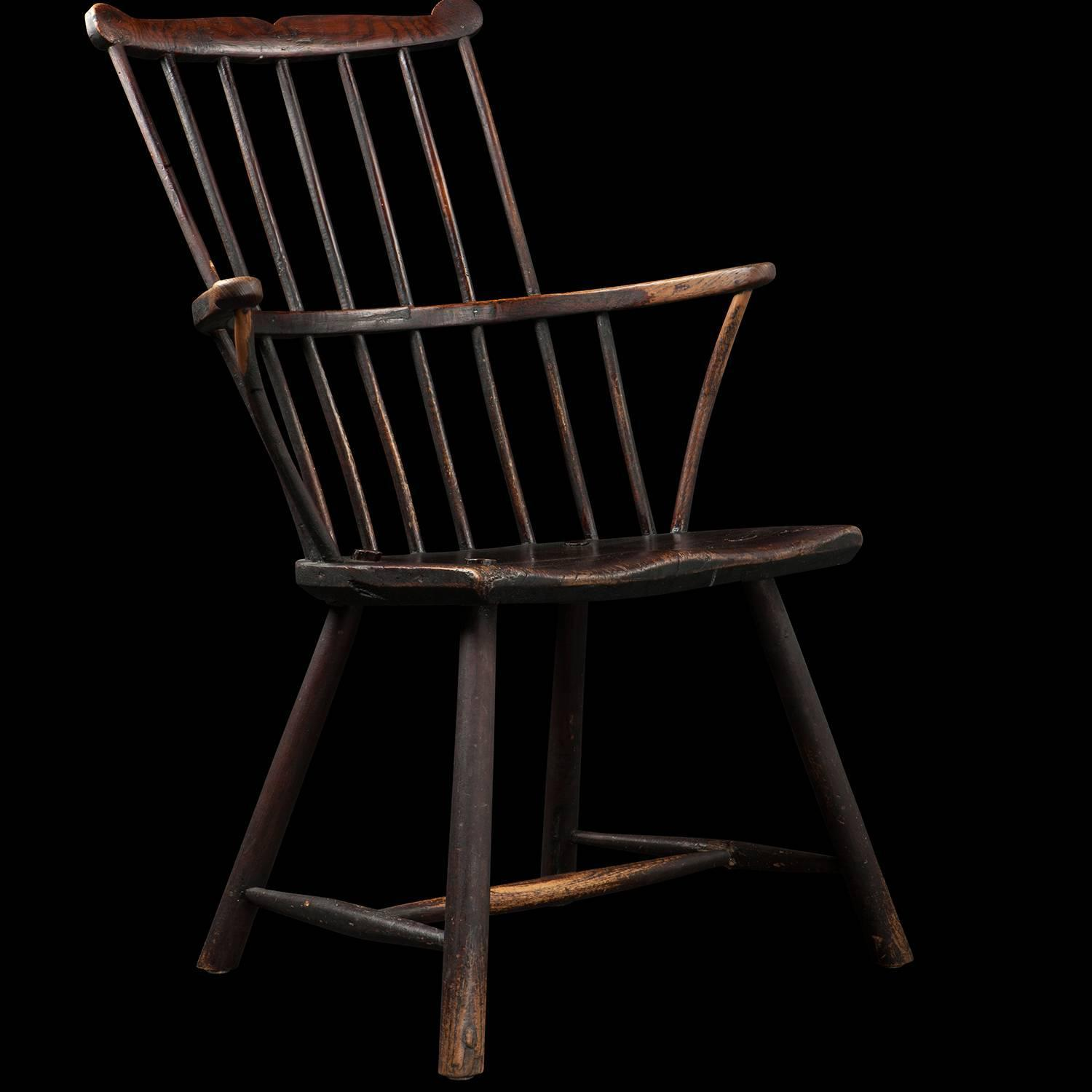 comb back windsor chair foldable lounge indoor for sale at 1stdibs