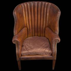 Wing Chairs On Sale Nursery Chair Barrel Back Leather For At 1stdibs