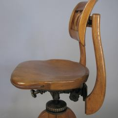 Sikes Chair Company Woven Rocking Antique Industrial Adjustable Drafting Stool By At 1stdibs