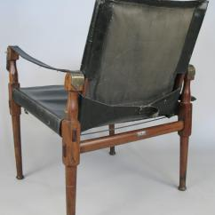 Leather Safari Chair Cover Rentals Belleville Vintage Rosewood And Campaign By